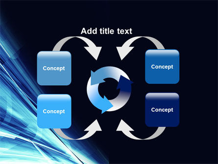 Blue Splash PowerPoint Template Slide 6