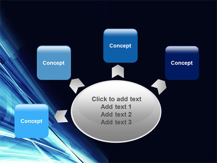 Blue Splash PowerPoint Template Slide 7