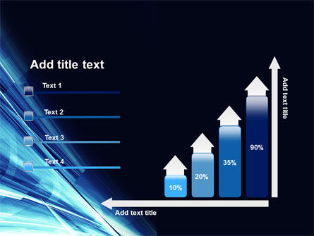 Blue Splash PowerPoint Template Slide 8