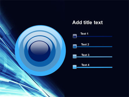 Blue Splash PowerPoint Template Slide 9