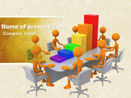 Consulting: Discussing Results PowerPoint Template #04800