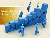 Consulting: Economic Progress PowerPoint Template #04805