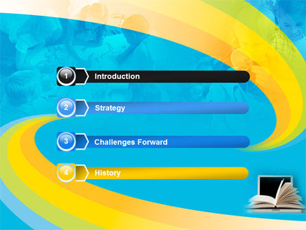 eLearning PowerPoint Template, Slide 3, 04807, Education & Training — PoweredTemplate.com