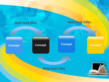 eLearning PowerPoint Template, Slide 4, 04807, Education & Training — PoweredTemplate.com