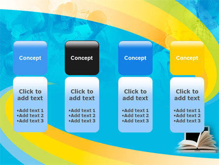 eLearning PowerPoint Template Slide 5