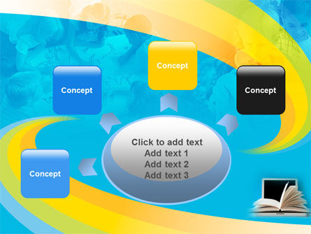 eLearning PowerPoint Template Slide 7