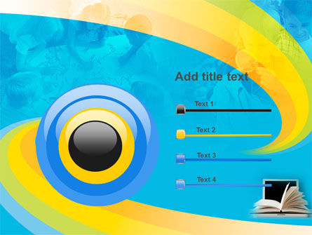 eLearning PowerPoint Template Slide 9