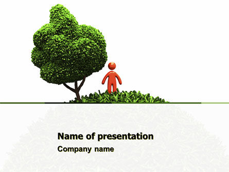Nature & Environment: Green Development PowerPoint Template #04810