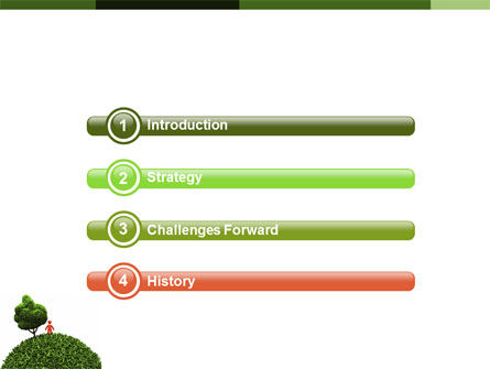 Green Development PowerPoint Template Slide 3