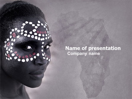 Flags/International: African Aesthetic PowerPoint Template #04811