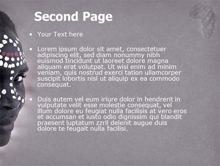 African Aesthetic PowerPoint Template, Slide 2, 04811, Flags/International — PoweredTemplate.com