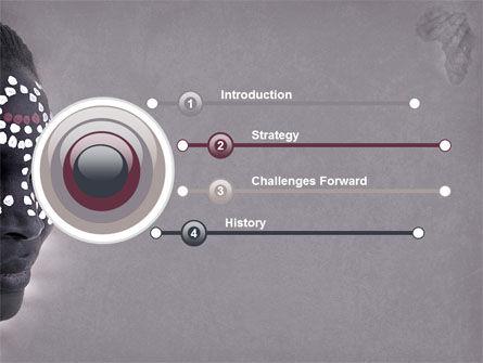 African Aesthetic PowerPoint Template, Slide 3, 04811, Flags/International — PoweredTemplate.com