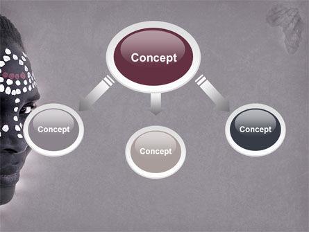 African Aesthetic PowerPoint Template, Slide 4, 04811, Flags/International — PoweredTemplate.com
