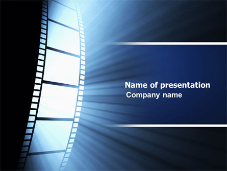Careers/Industry: Film Tape PowerPoint Template #04812