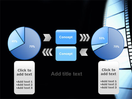 Film Tape PowerPoint Template Slide 11