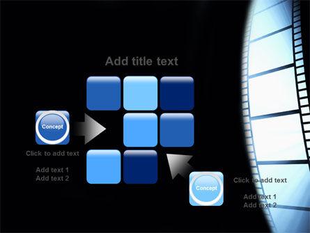 Film Tape PowerPoint Template Slide 16
