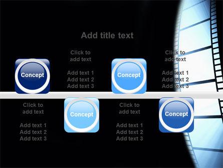 Film Tape PowerPoint Template Slide 19
