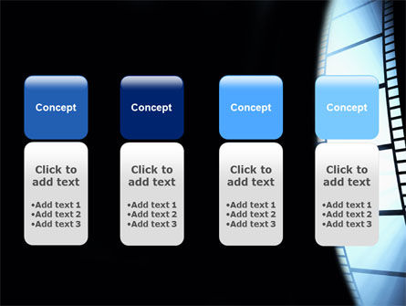 Film Tape PowerPoint Template Slide 5