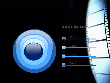Film Tape PowerPoint Template Slide 9