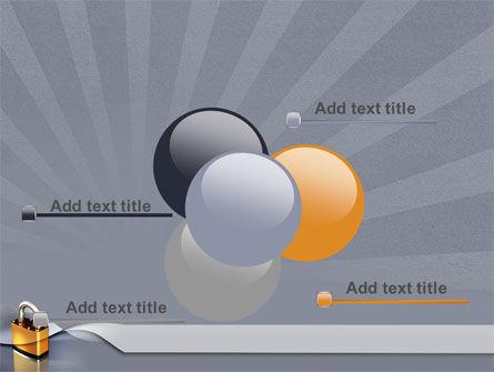 Lock PowerPoint Template Slide 10
