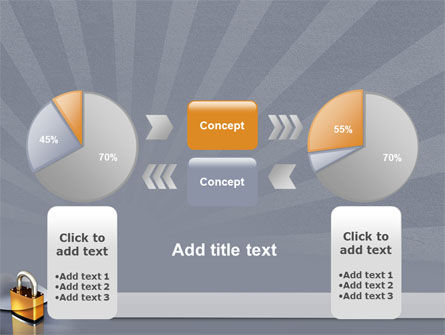 Lock PowerPoint Template Slide 11