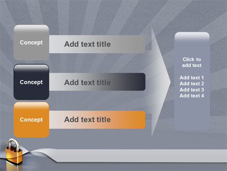 Lock PowerPoint Template Slide 12