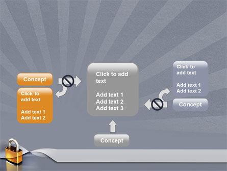 Lock PowerPoint Template Slide 13