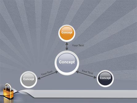 Lock PowerPoint Template Slide 14