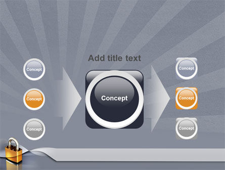 Lock PowerPoint Template Slide 17