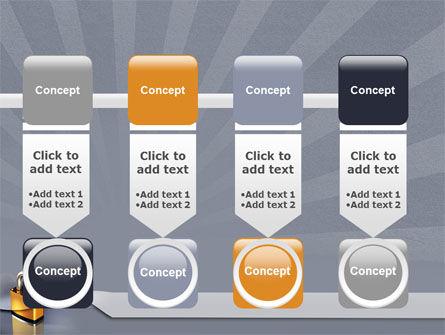 Lock PowerPoint Template Slide 18