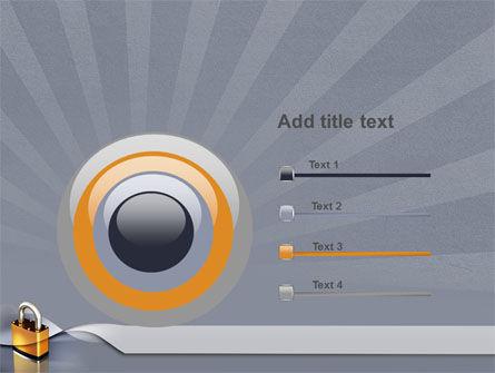 Lock PowerPoint Template Slide 9