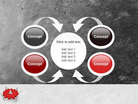 Working Gear PowerPoint Template Slide 6