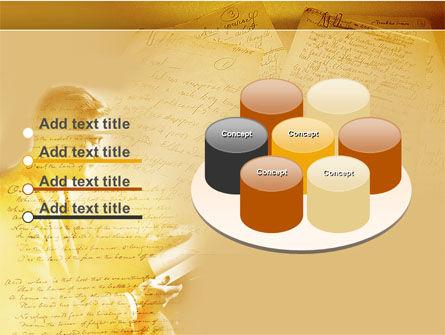 Scott Fitzgerald PowerPoint Template Slide 12