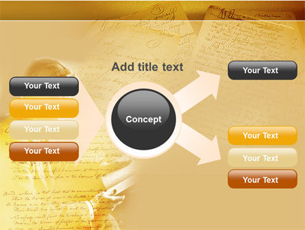 Scott Fitzgerald PowerPoint Template Slide 15