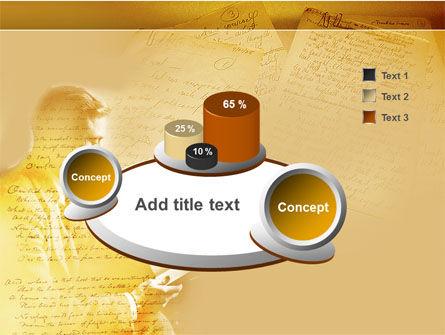 Scott Fitzgerald PowerPoint Template Slide 6