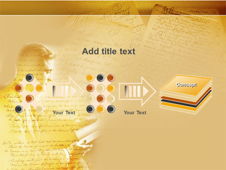 Scott Fitzgerald PowerPoint Template Slide 9