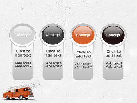 Fire Engine PowerPoint Template Slide 5