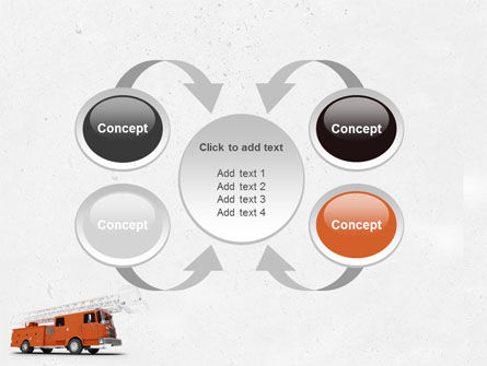Fire Engine PowerPoint Template Slide 6