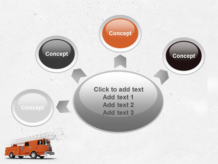 Fire Engine PowerPoint Template Slide 7