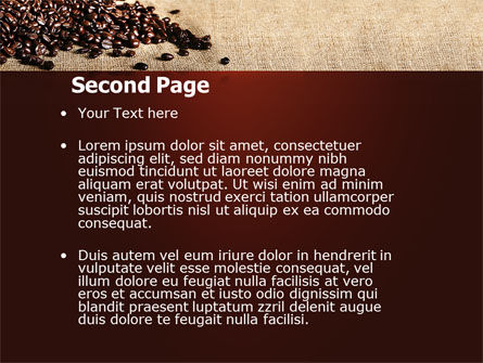 Coffee Break With Cappuccino PowerPoint Template, Slide 2, 04820, Food & Beverage — PoweredTemplate.com