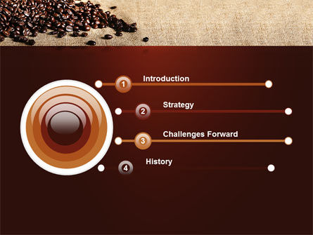 Coffee Break With Cappuccino PowerPoint Template, Slide 3, 04820, Food & Beverage — PoweredTemplate.com