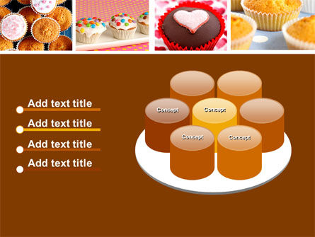 Cupcakes PowerPoint Template Slide 12
