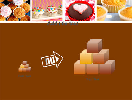 Cupcakes PowerPoint Template Slide 13