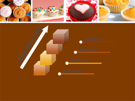 Cupcakes PowerPoint Template Slide 14
