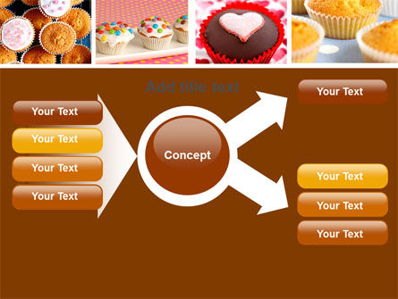 Cupcakes PowerPoint Template Slide 15