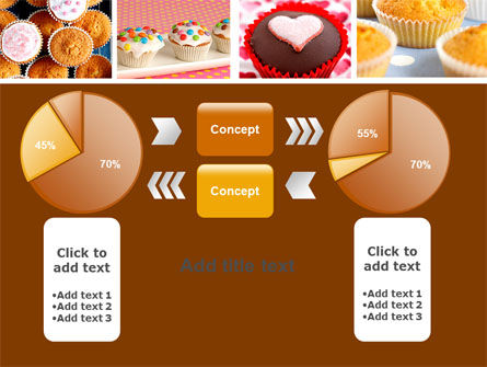 Cupcakes PowerPoint Template Slide 16