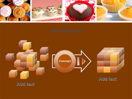 Cupcakes PowerPoint Template Slide 17