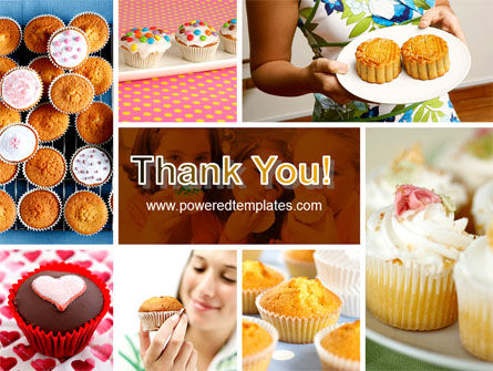 Cupcakes PowerPoint Template Slide 20