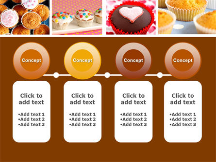 Cupcakes PowerPoint Template Slide 5