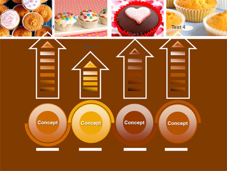 Cupcakes PowerPoint Template Slide 7